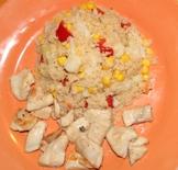 Couscoussalat mit Hähnchen