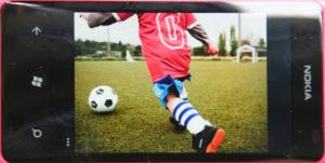 Nokia Lumia 800 Bilderanzeige (Beispielbild)