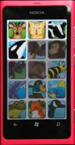 Nokia Lumia 800 Erste Wörter Wortauswahl