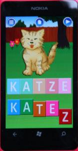 Nokia Lumia 800 Erste Wörter Katze