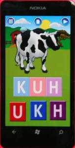 Nokia Lumia 800 Erste Wörter Kuh