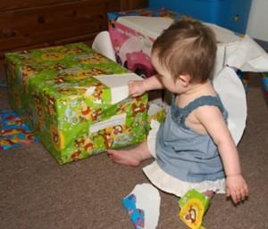 Geschenke Geburtstag auspacken