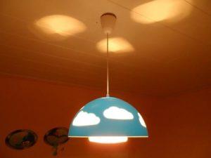 Wolkenlampe von IKEA