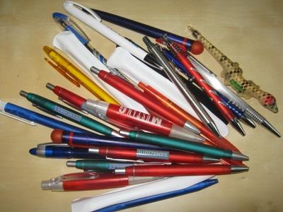 Heimarbeit Kugelschreiber zusammenbauen