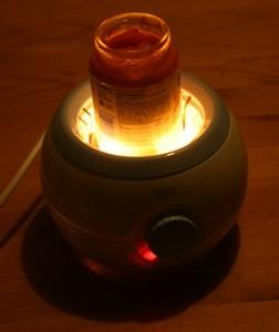Karotte im NUK Thermo Light