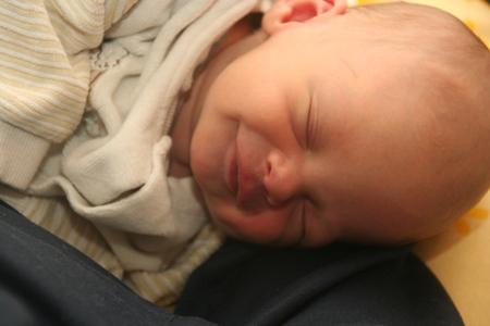 Baby Engelslächeln