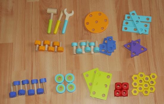 Werkzeug zur Kinderwerkbank