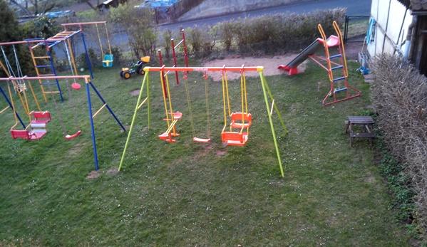 Klettergerüst Kinder Outdoor : Einblick in unseren garten u2022 mama papa und sieben kinder: ein