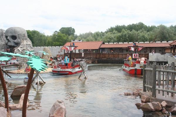 Piratenschiff Wasserspaß