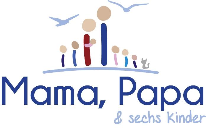 Mama, Papa und sechs Kinder-