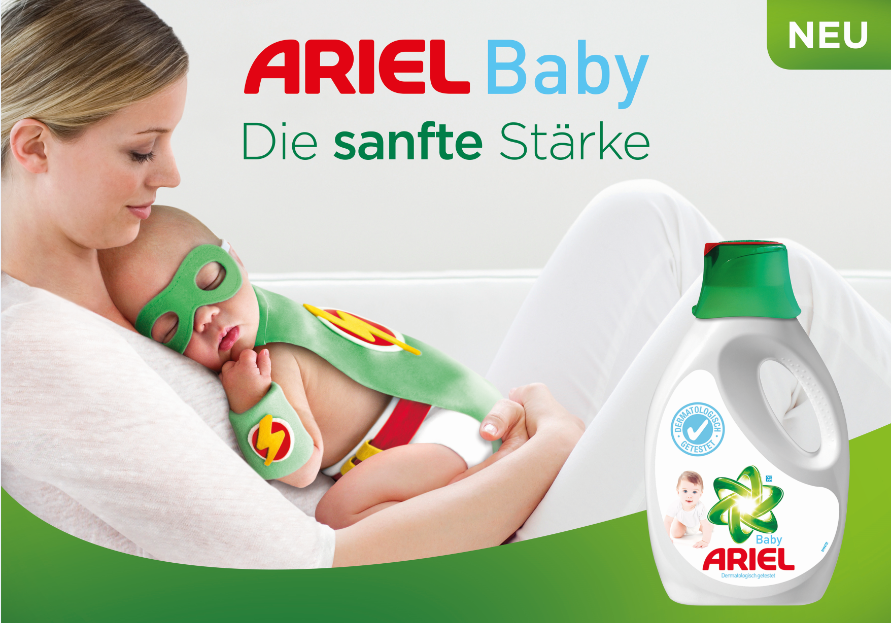 waschpulver baby test