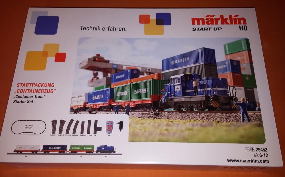 Modelleisenbahn Starter-Set Kinder Märklin