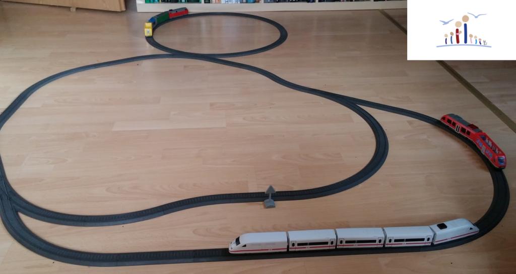 Eisenbahn Strecke für die Allerkeinsten