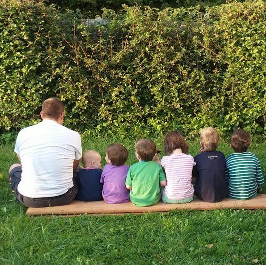 Großfamilie Familienfoto September 2016