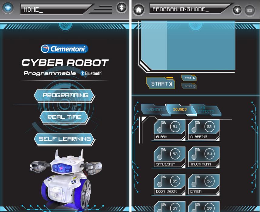 Bilder App Cyber Robot