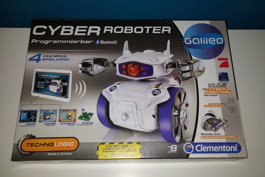 Packung Cyber Roboter
