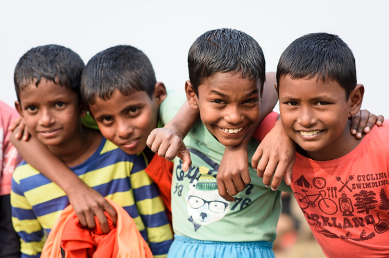 Kindernothilfe Straßenkinder im Schutzhaus